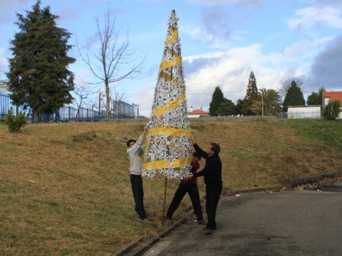 E da árvore de Natal nascerá a horta vertical...