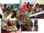 Realização de um mercadinho para venda de produtos da horta. Este projeto também teve como objetivo o desenvolvimento de atividades funcionais que fazem parte do curriculo de crianças com NEE.